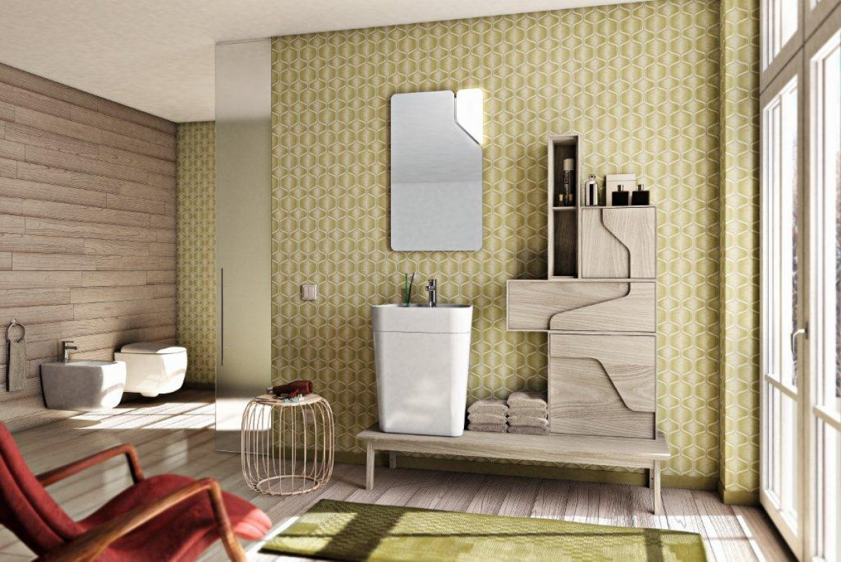Sanitari Bagno Outlet. Bagno Whitegrey In Crash Bamb Occasione Da ...