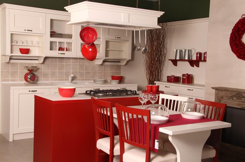 Gretha c c cucine cucine arredamentic c cucine for Cucine rosse